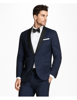 Milano Fit Shawl Collar Navy Tuxedo by Brooks Brothers