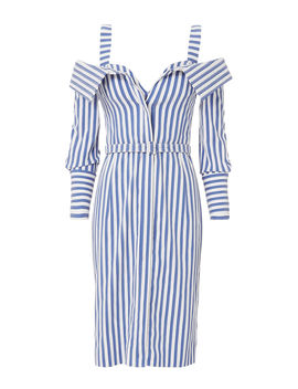 Bustier Striped Dress by Monse