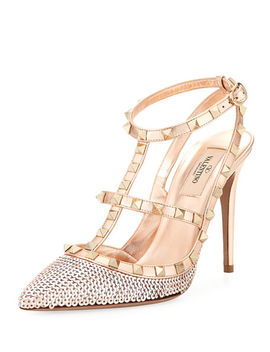 Rockstud Liquid Metal Sequin Pump by Valentino Garavani