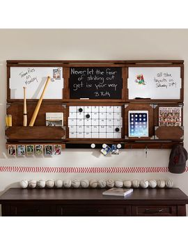 Organize It System, Double Frame, Rustic Wood by P Bteen