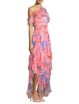 Galina Handkerchief Maxi Dress by Alice + Olivia