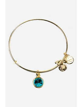 December Birthstone Expandable Wire Bangle by Alex And Ani
