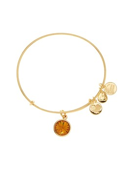 November Birthstone Expandable Wire Bangle by Alex And Ani