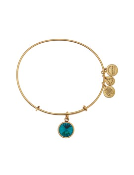 December Birthstone Expandable Bangle by Alex And Ani