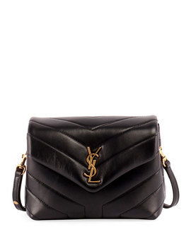 Loulou Toy Quilted Shoulder Bag by Saint Laurent