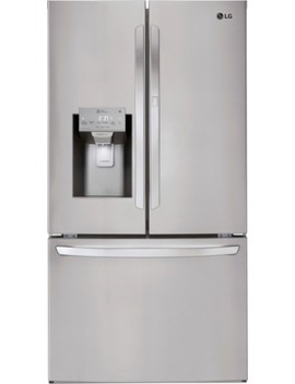 27.7 Cu. Ft. French Door In Door Refrigerator   Stainless Steel by Lg
