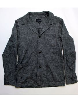 Brand New  Wings + Horns Charcoal Cotton Blazer S Msrp $450 by Ebay Seller