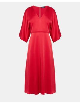 Evening V Neck Dress by Theory
