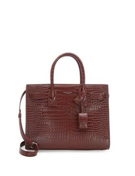 Baby Stamped Croc Sac De Jour by Saint Laurent
