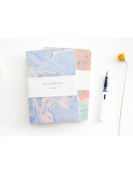 Watercolor Minimalist Notebook, Pastel Color Notebook, Minimalist Journal, Minimal Travelers Journal, College Notebook,Cute Notebook Journal by Etsy