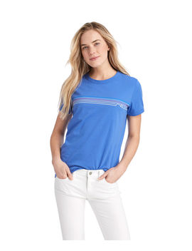 Sunset Whale Line Tee by Vineyard Vines