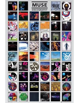 Muse (Discography)   Maxi Poster   61cm X 91.5cm by Amazon