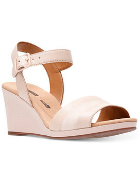 Collection Women's Lafely Aletha Wedge Sandals by Clarks