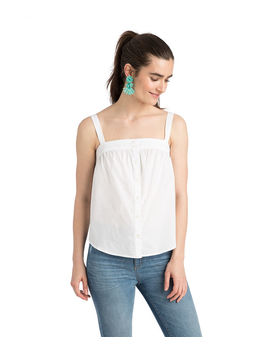 Button Front Tank by Vineyard Vines