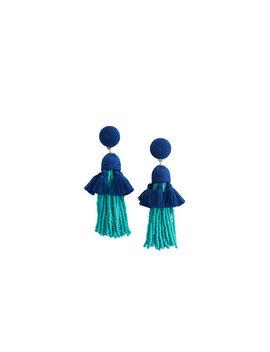 Layered Tassel Earrings by Vineyard Vines