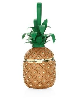 3 D Pineapple Bag by Kate Spade New York