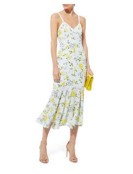 Jolene Gardenia Midi Dress by Cinq à Sept