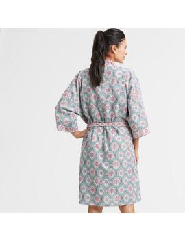 Blue And Lavender Ogee Ashmi Robe by World Market