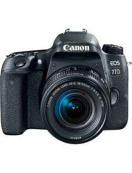 Eos 77 D Dslr Camera With 18 55mm Lens by Canon