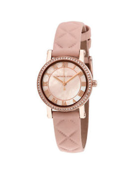 Michael Kors Petite Norie Mother Of Pearl Dial Ladies Watch Mk2683 by Michael Kors