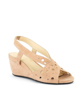 Yummy Mid Wedge Sandal by David Tate