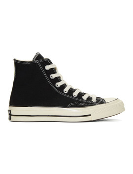 Black Chuck Taylor All Star '70 High Top Sneakers by Converse