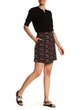 Colorblock Tweed Skirt by Grey Jason Wu
