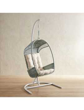 Luna Star Light Blue Hanging Chair by Swingasan® Collection