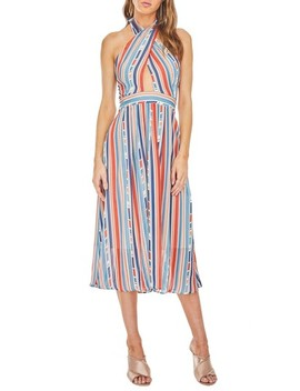 Gemma Halter Midi Dress by Astr The Label
