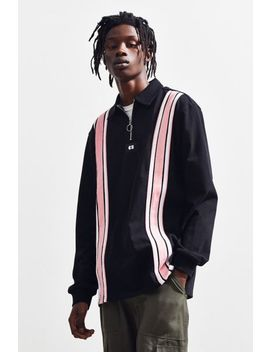 Lazy Oaf Stripe Through Rugby Shirt by Lazy Oaf