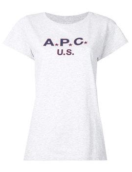 Logo Print T Shirt by A.P.C.