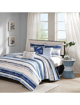 Madison Park Marina Coverlet Set by Bed Bath And Beyond