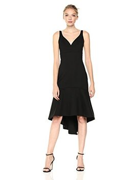 Adelyn Rae Women's Izabella Knit Ponte Midi Dress by Adelyn Rae