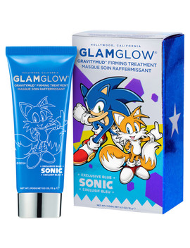 Glamglow Sonic Blue Gravitymud Firming Treatment 15g   Tails Collectable by Glamglow