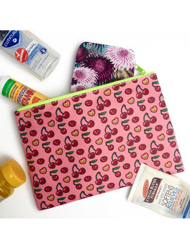 Cherry Zip Pouch by Etsy