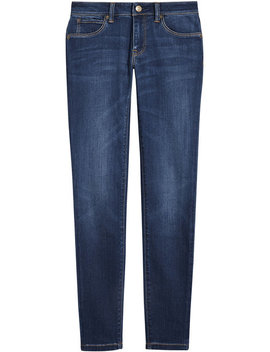 Skinny Fit Low Rise Power Stretch Jeans by Burberry Burberry Burberry Burberry Burberry Burberry Burberry