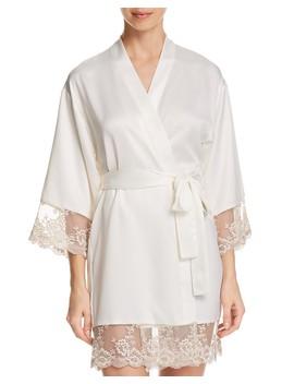 Rosa Charmeuse Kimono by Flora Nikrooz