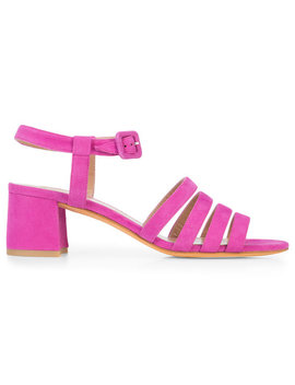 Strappy Block Heel Sandalshome Women Shoes Sandals by Maryam Nassir Zadeh
