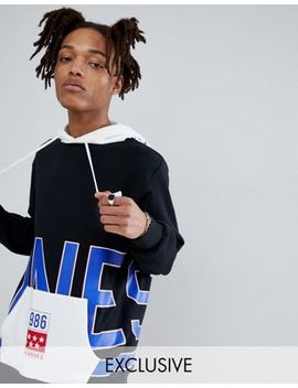 Converse One Star '86 Pullover Hoodie In Black Exclusive To Asos by Converse