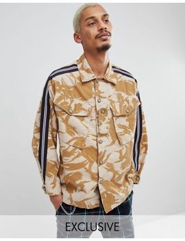 Milk It Camo Jacket With Taping by Milk It