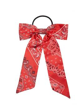 Bandana Bow Hair Tie by Forever 21