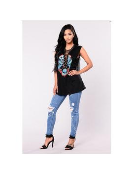Casual Hole Pencil Pants High Waist Skinny Jeans Light Blue Fake Zippers Ripped Vintage Women Tie Dye Trousers by E Ka Bei Ka Lu Sa Ka