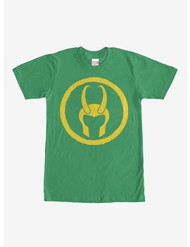 Marvel Loki Horned Helmet T Shirt by Hot Topic