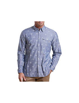 Barbour Beacon Print Shirt, Chambray by Barbour