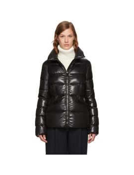 Black Down Danae Jacket by Moncler