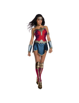 Halloween Wonder Woman Costume Justice League Womens Medium Secret Wishes by Rubie's