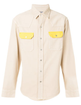Contrast Pocket Shirthome Men Clothing Shirts by Calvin Klein Jeans