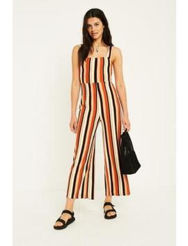 Uo Delany Stripe Jumpsuit by Urban Outfitters