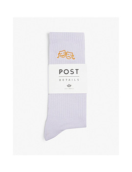 Drama Club Cotton Blend Socks by Post Details