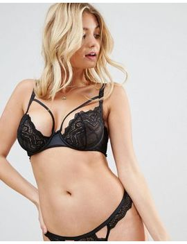 Asos Fuller Bust Malin Strappy Lace Underwire Bra by Asos Collection